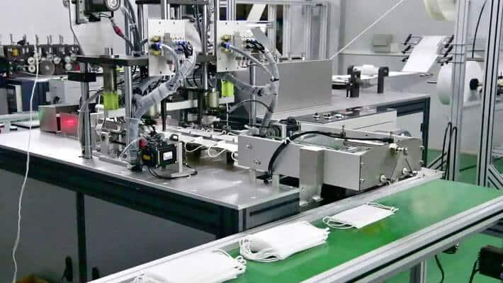 maseczki medyczne linia produkcyjna