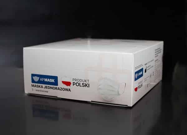 Zbiorcze pudełko na maseczki ochronne