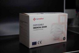 medical mask type II 50pcs box